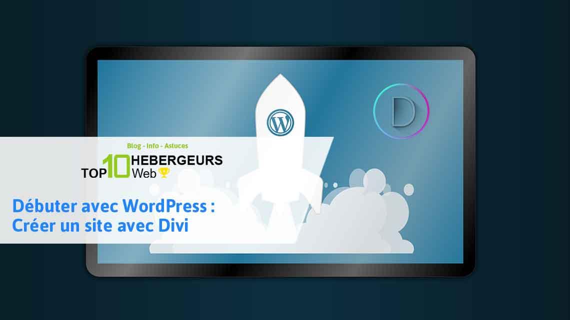 débuter wordpress divi